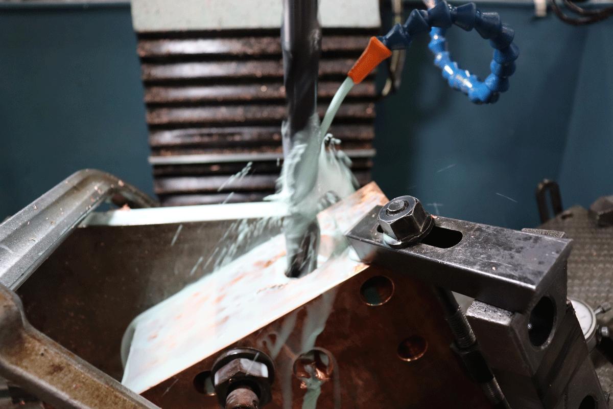 Maching copper bus